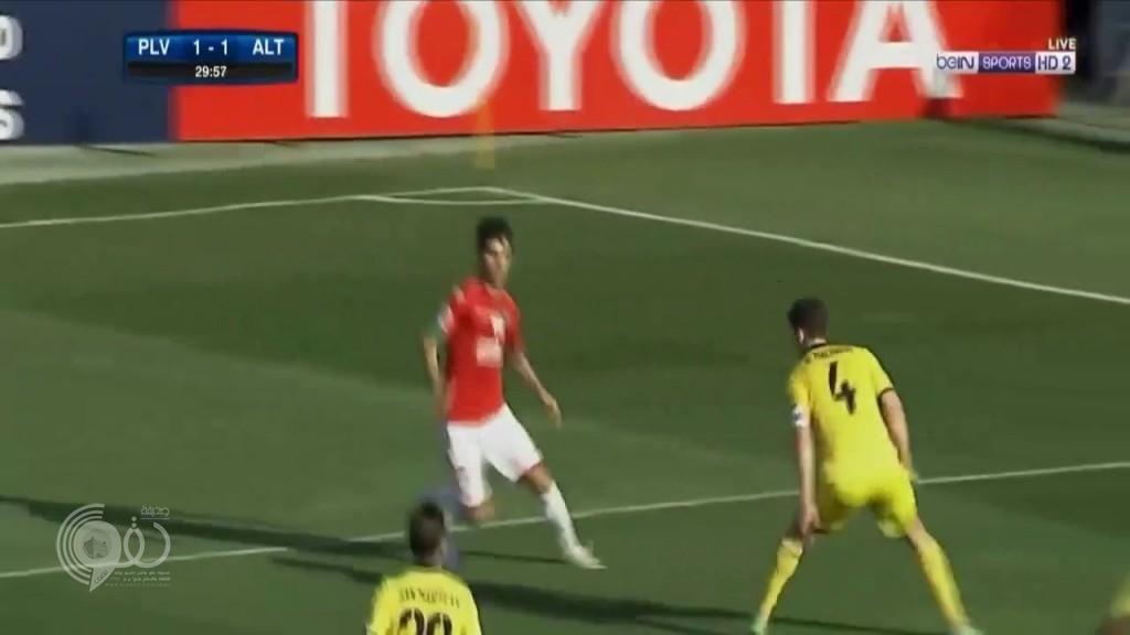 """شاهد .. هدف على طريقة """"ميسي"""" للاعب التعاون السواط في دوري أبطال آسيا"""