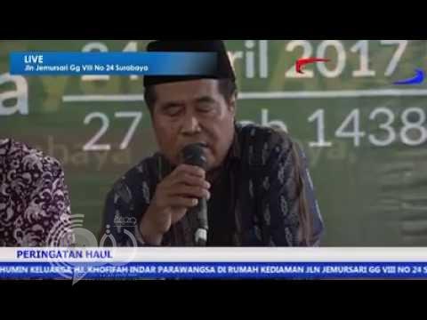 """شاهد لحظة وفاة أشهر قارئ قرآن بإندونيسيا وهو يتلو سورة """"الملك"""" على الهواء"""