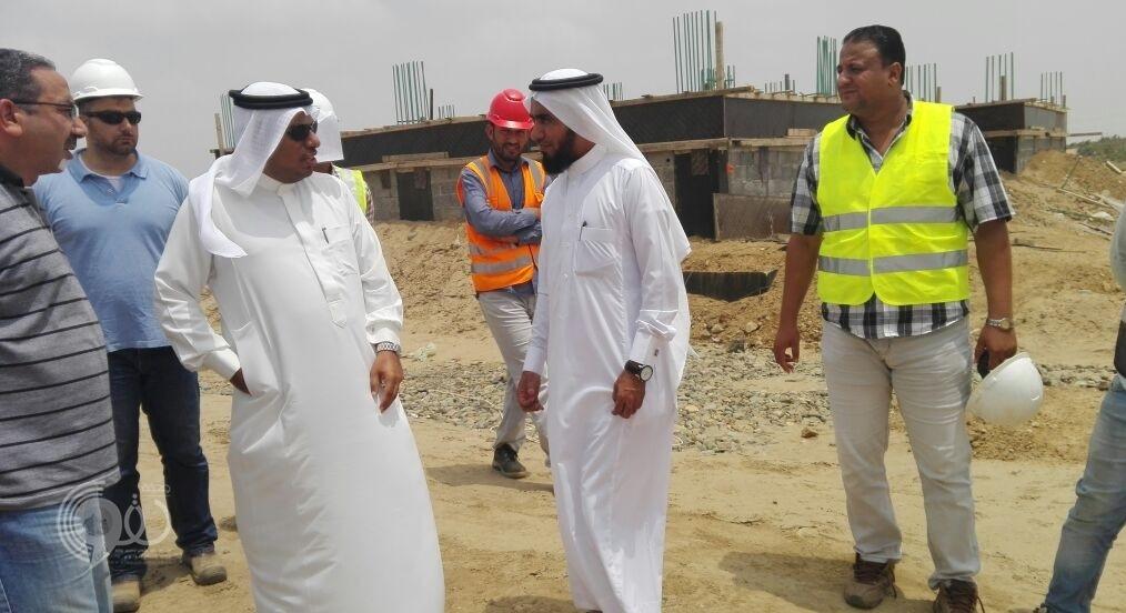 """""""القصيبي"""" يتفقد محطة معالجة مياه الصرف الصحي بمحافظة بيش .. صور"""
