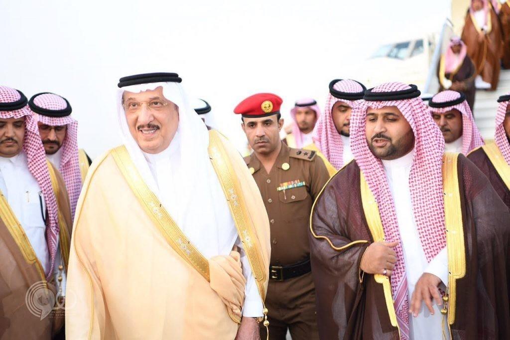 أمير جازان يستقبل سمو نائبه ويشرف حفل استقبال أهالي المنطقة