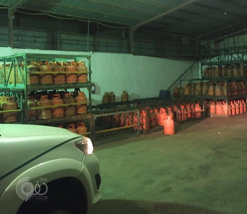 """""""التجارة"""" تنفِّذ جولات رقابية للتحقُّق من بيع الغاز بالأسعار المحددة في جازان"""