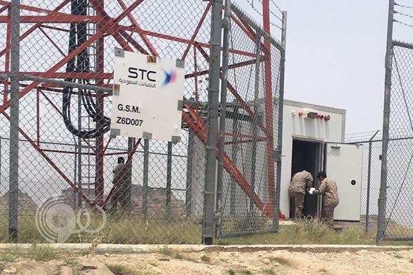 """جنود """"الربوعة"""" يناشدون مسؤولي الاتصالات بدعم أبراج الجوال"""