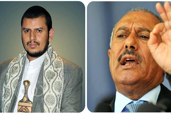 """تطورات درامية في صراع """"صالح"""" وعبدالملك الحوثي"""