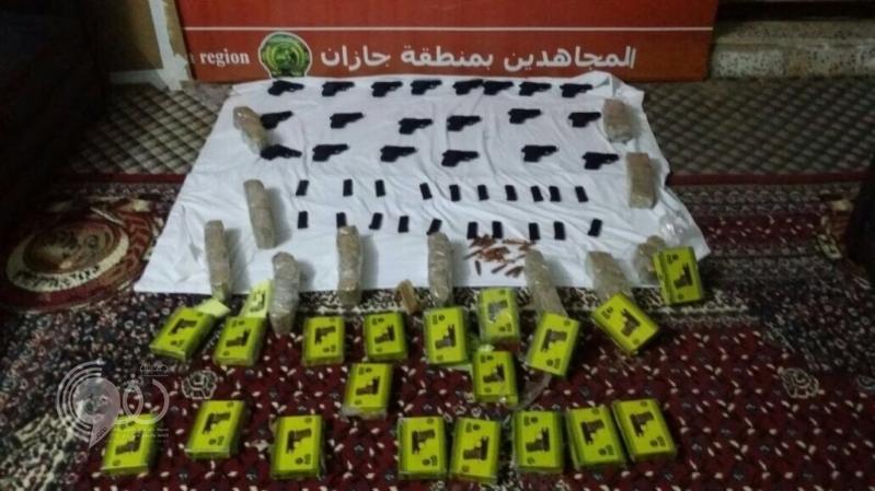 بالفيديو : مجاهدو جازان يحبطون تهريب أسلحة وذخائر قادمة من اليمن