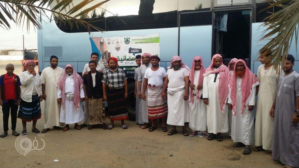 المكتب التعاوني بمركز الحقو يُنفذ مشروع العمرة الرمضانية ويبدأ بـأكثر من 20 عائلة – صور