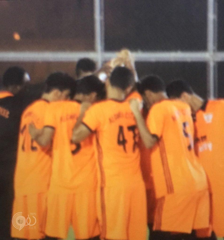 """فريق """"الصاعقة"""" يَصعق فريق """"القوام سيتي"""" ممثل الحقو بثلاثة اهداف ببطولة محافظة بيش"""