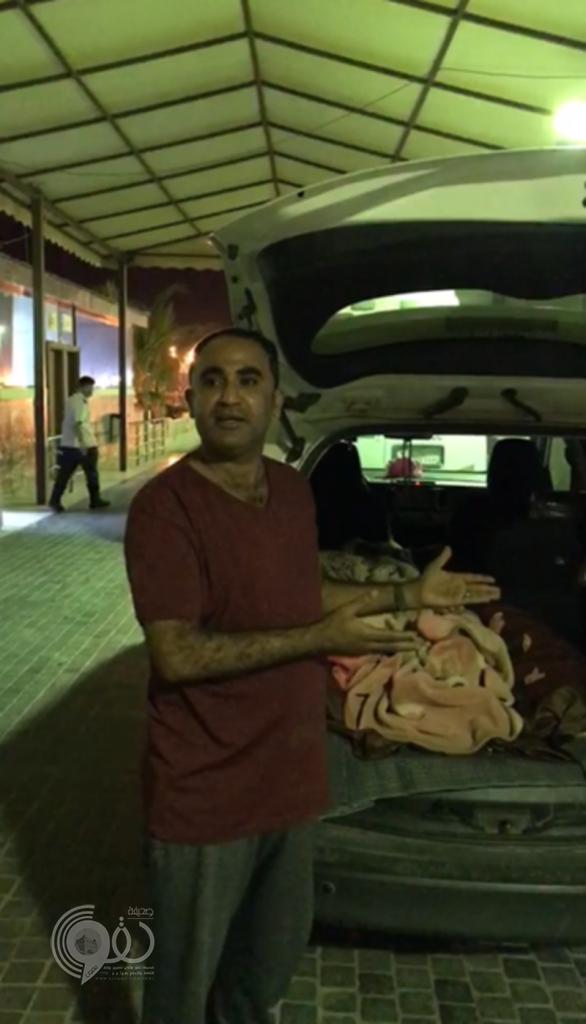 """شرطة جازان تٌطيح بمصور فيديو """"جثة ثلاجة أبو عريش"""""""