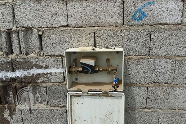 """بدء ضخ المياه لعدد من قرى """"العارضة"""""""