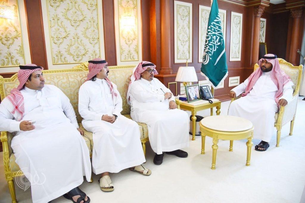 سمو نائب أمير منطقة جازان يستقبل رابطة إعلاميي الجبيل