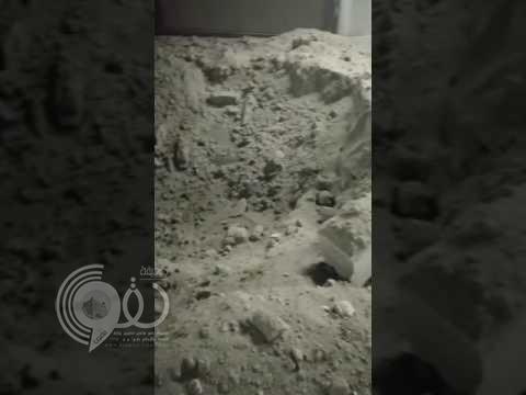 شاهد بالفيديو كيف تضررت استراحة في الطائف عقب سقوط شظية من صاروخ مضاد لصاروخ حوثي