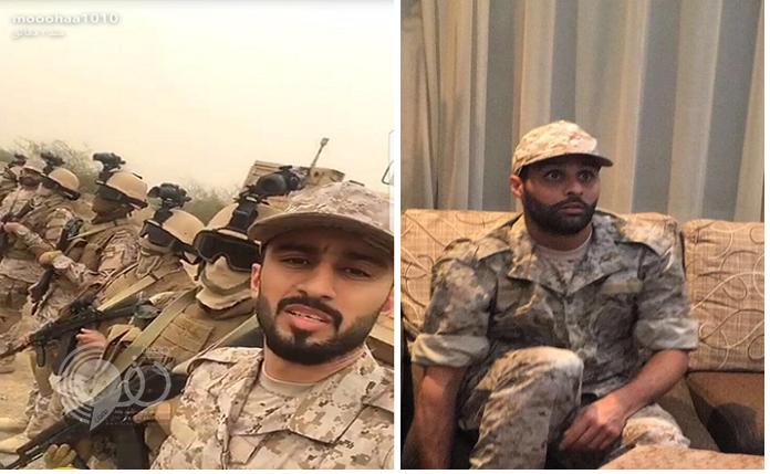 بالفيديو والصور : السهلاوي و القحطاني يرتديان الزي العسكري.. ويذهبان للحد الجنوبي.. لهذا السبب!