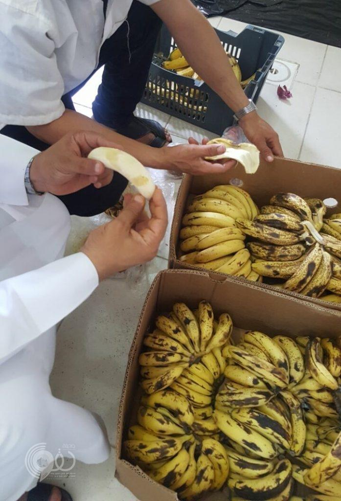 بلدية محافظة الريث تقوم بحملات تفتيشية وتضبط أغذية فاسدة .. صور