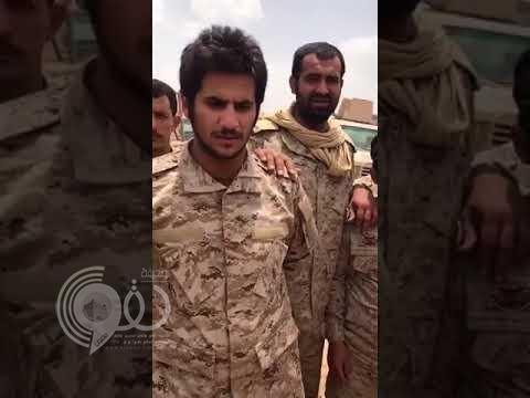 بالفيديو.. شاهد تصرف ملفت لجنود سعوديين تجاه أسير حوثي مصاب بعد محاولته الاعتداء على القوات
