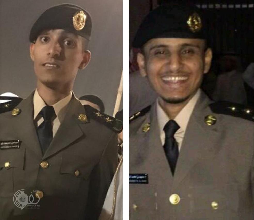 """بالصور تخرج الملازم أول """"عبدالعزيز النهاري"""" والملازم أول """"سعيد النعمي"""" من كلية الملك فهد الأمنية"""