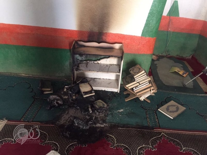جازان : وافد يُشعل النيران في مسجد وغرفة مسنّ بالداير بني مالك