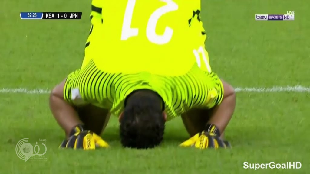 شاهد.. المنتخب السعودي يحقق انتصاراً تاريخياً على اليابان ويصعد إلى كأس العالم بروسيا 2018