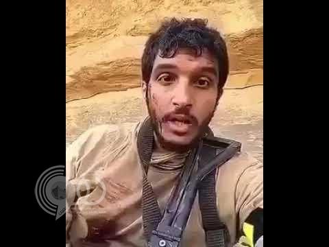 شاهد رسالة الملازم خالد الغامدي المؤثرة بعد إصابته بالحد الجنوبي