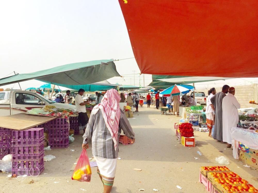 محافظة بيش : «صدمة» في سوق السبت