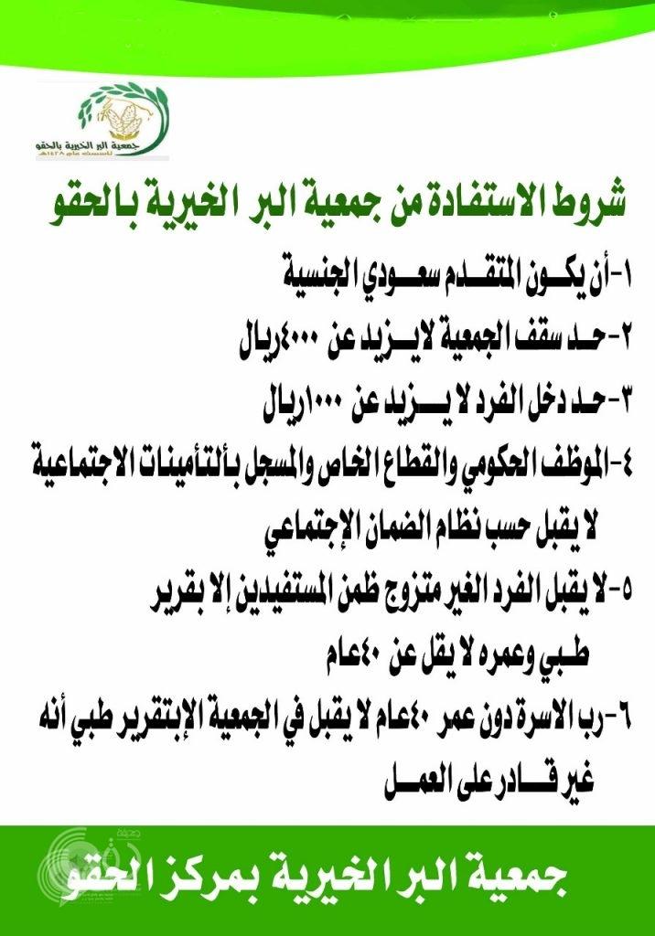 """جمعية البر بمركز الحقو تبدأ تطبيق معايير الإستحقاق الجديدة وترقُب """"مجتمعي"""" لقائمة الأسماء المُستثناة"""