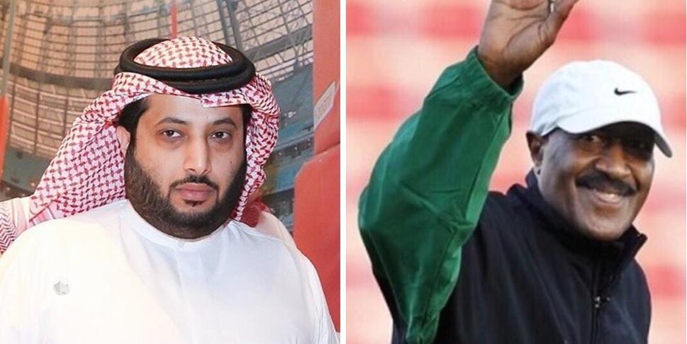 """بعد إقالة باوزا.. آل الشيخ يغرد بصورة """"ناصر الجوهر"""".. ثم بصورة للجابر"""