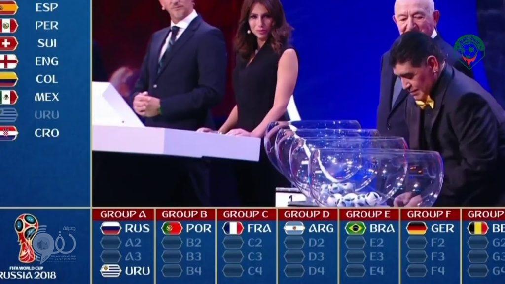 نتيجة قرعة كأس العالم روسيا 2018: السعودية تقع في المجموعة الأولى مع روسيا ومصر وأوروجواي