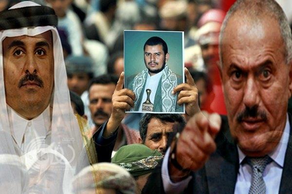 """""""المخلوع"""" يرفض وساطة قطر لإنقاذ الحوثيين ويأمر بطردهم من كل المؤسسات"""