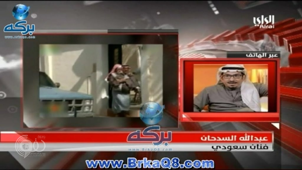 """بالفيديو.. أول تعليق لـ""""السدحان"""" على سقوط شظايا قرب منزله بالرياض"""
