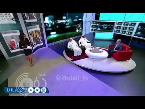 بالفيديو.. ناقد رياضي سعودي يحرج مذيعة على الهواء