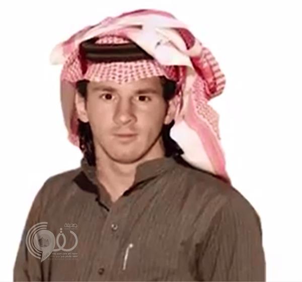 """فيديو طريف نشره آل الشيخ.. أحد يتوج بالدوري عبر """"رباعية ميسي"""" في الهلال!"""