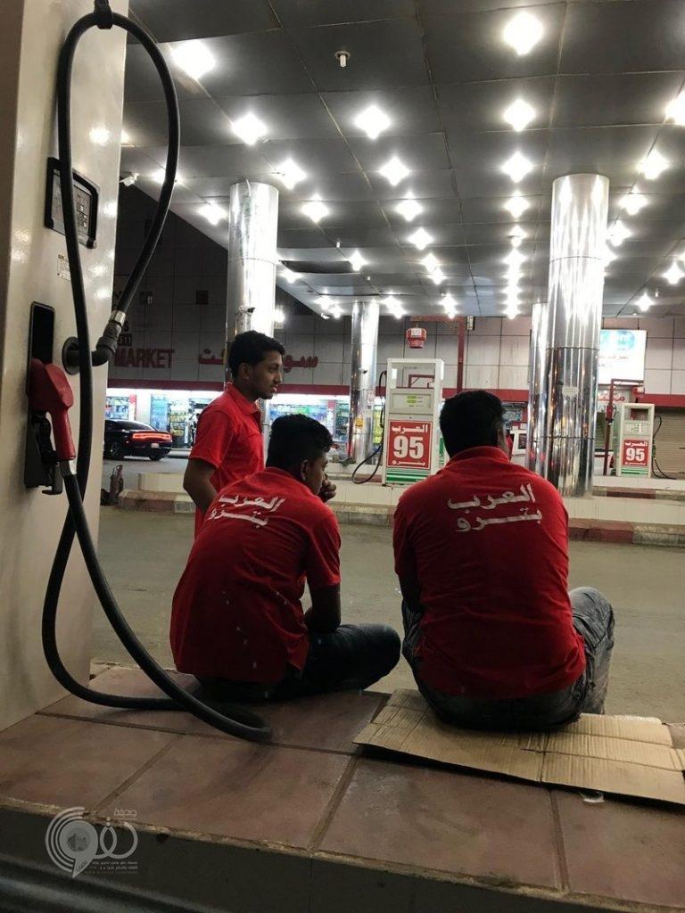 """الكشف عن محطات وقود بمحافظتَيْ بيش وصبيا توقف البيع بحجة """"الفراغ"""""""