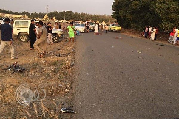 """""""شرطة جازان"""" توضح أسباب حادث فريق اليرموك للدراجات الهوائية"""