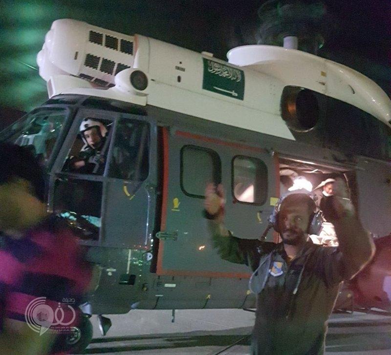 بشكل فوري.. طيران البحرية يتدخل لإنقاذ مصاب توقَّف قلبه بجزيرة فرسان