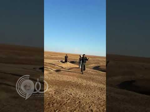 بالفيديو.. شاهد لحظة القبض على سعودي داعشي بصحراء الأردن