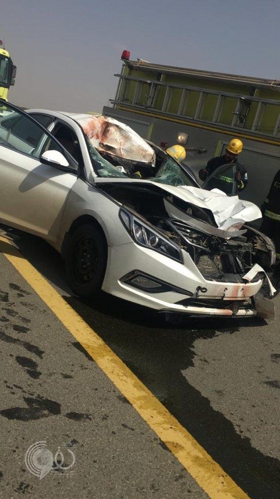 """عاجل .. وفاة رجل نتيجة حادث دهس مُروع على طريق """"مركز الحقو – المحلة"""" – صور"""
