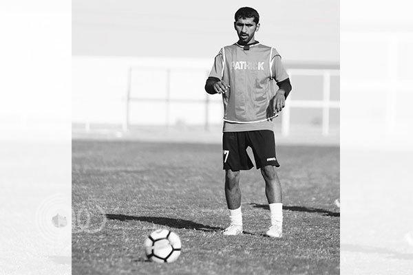 """نادي النجمة يعلن وفاة لاعبه """"المطيري"""" في السودان"""