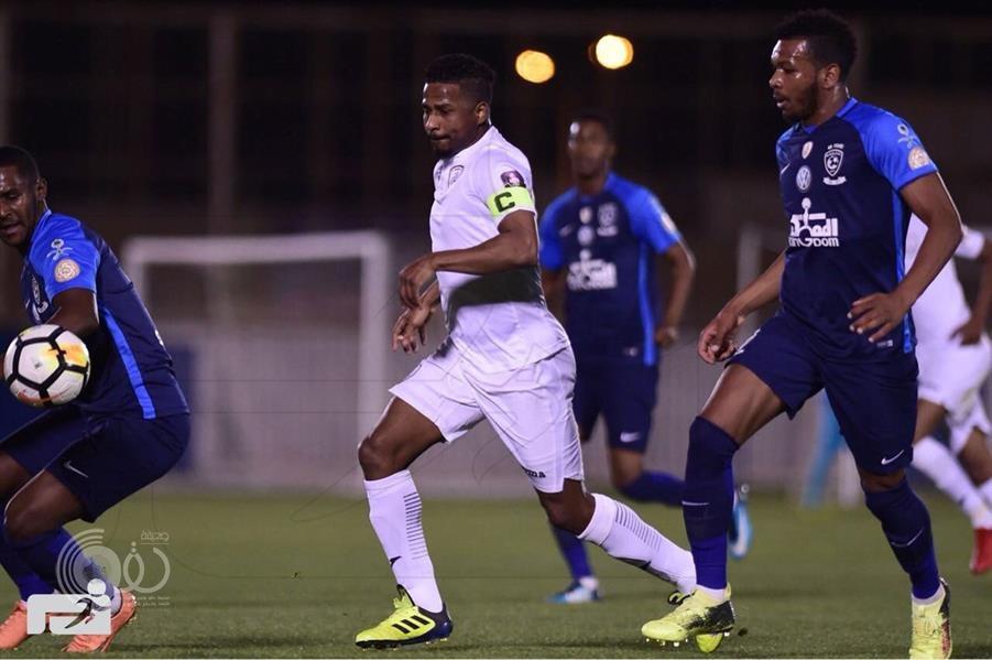 نادي الهلال يحقق الفوز على الشباب ودياً بنتيجة 9-1