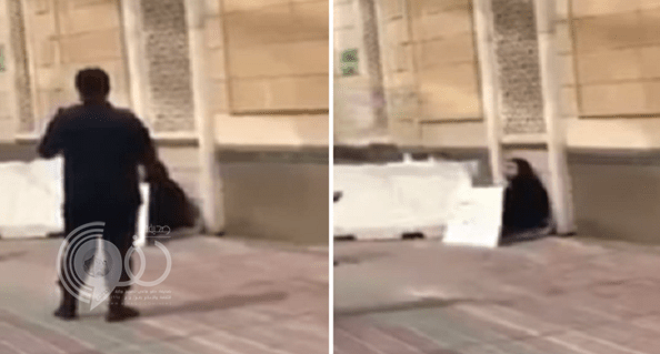 شاهد: امرأة تثير الرعب في الكويت.. بسبب لافتة مكتوب عليها هذه العبارة!