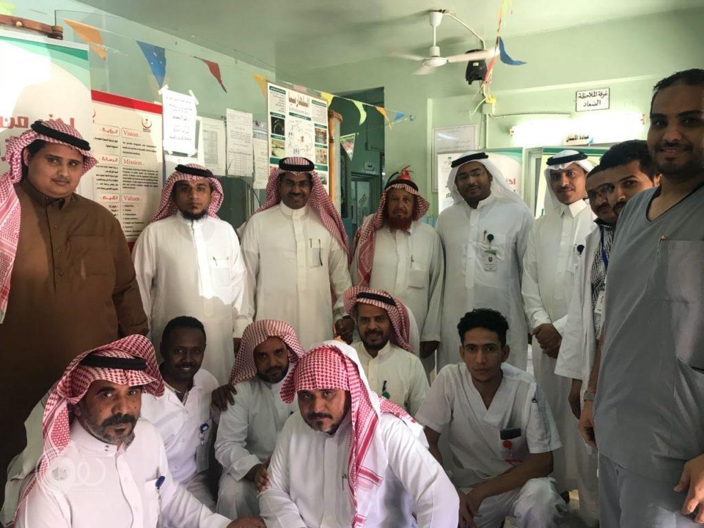 مدير عام الشؤن الصحية بمنطقة جازان يقوم بزيارة تفقدية لمحافظة الريث