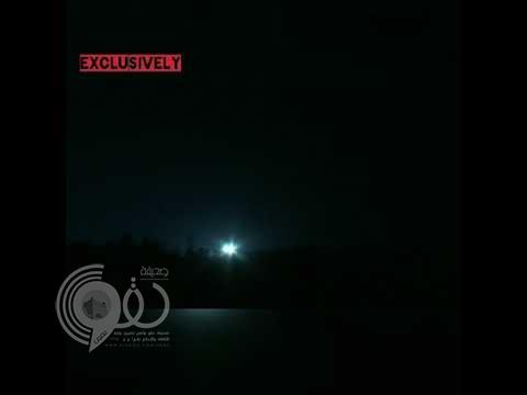 شاهد.. لحظة ضرب أمريكا مواقع النظام السوري