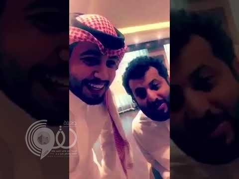"""شاهد .. تركي آل الشيخ يستقبل صاحب مقطع """"مسلسل الرياضة السعودية""""… ويمازحه : """"بس لا تسميني بلوتو"""""""