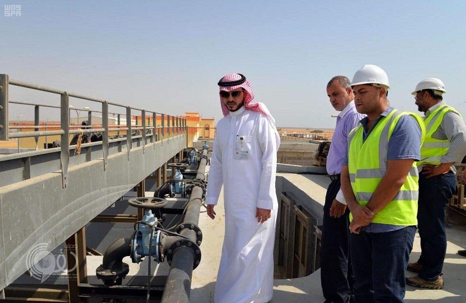 مدير خدمات المياه بجازان يتفقد مشاريع المياه بمحافظة صبيا.. صور