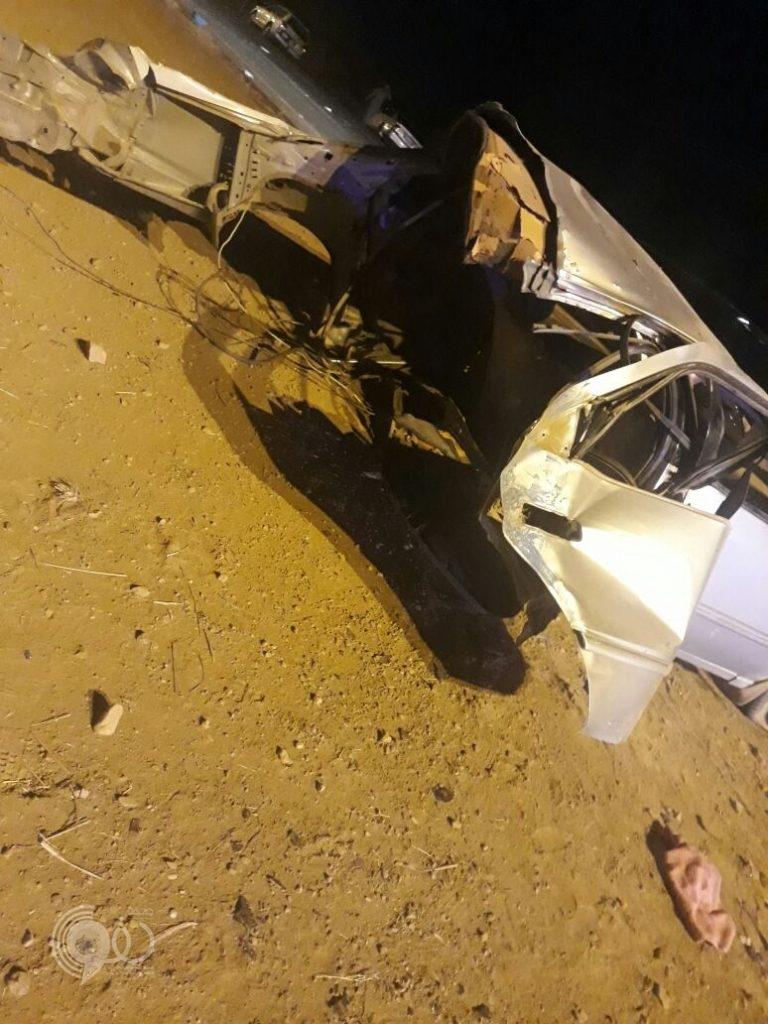 حالات حرجة وإصابات بليغة نتيجة حادث مروع على طريق الحقو – الريث – صور