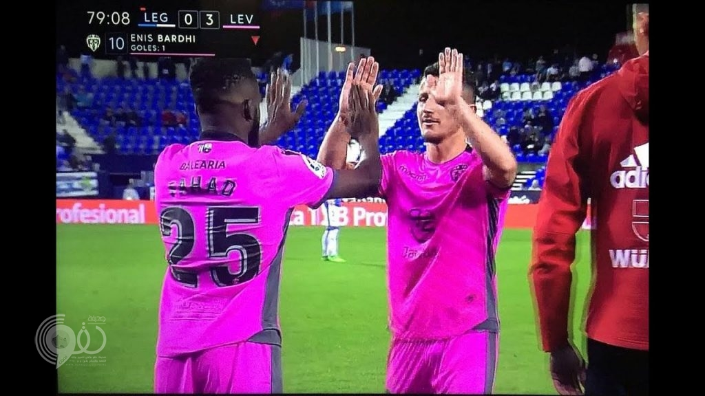 شاهد.. فهد المولد يسجل مشاركته الأولى في الدوري الإسباني مع فريقه ليفانتي أمام ليغانيس