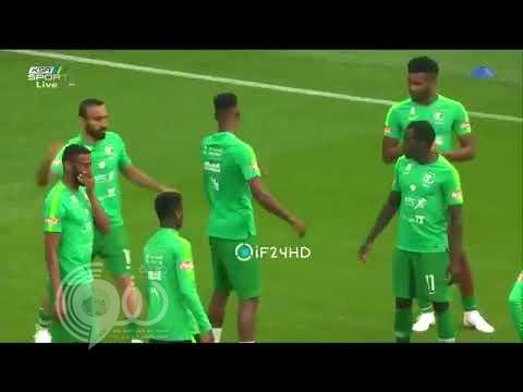 بالفيديو.. اشتباك بالأيدي بين محمد كنو والسهلاوي قبل انطلاقة لقاء ألمانيا