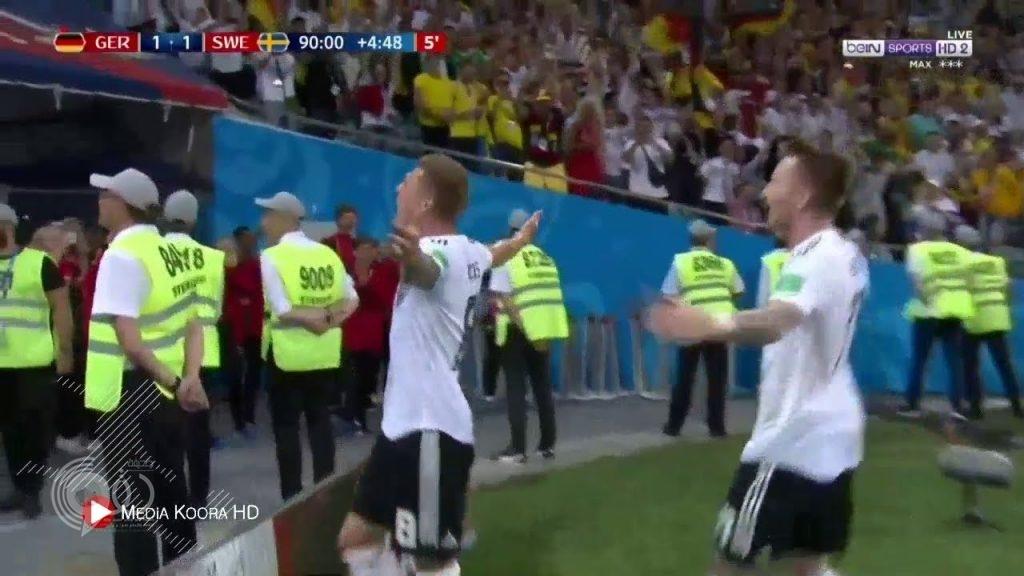 ألمانيا تحقق فوزاً قاتلاً على السويد بهدفين مقابل هدف (فيديو)