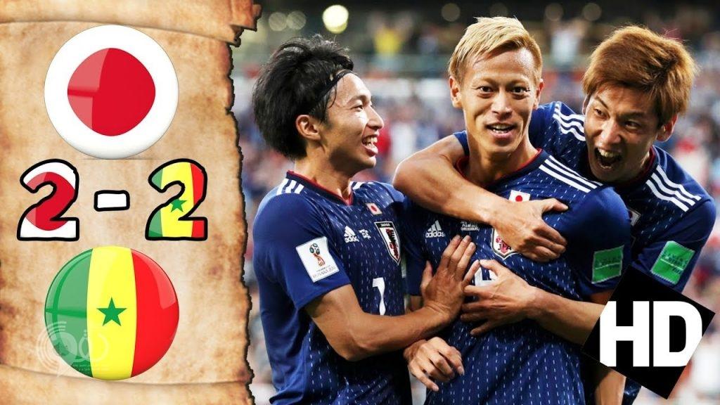 بالفيديو .. اليابان تعقد المجموعة الثامنة بالتعادل مع السنغال