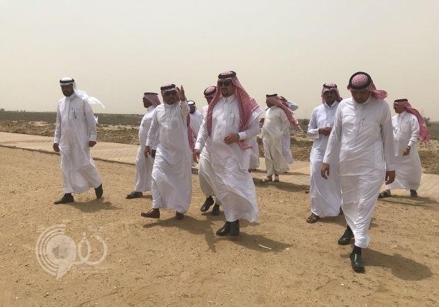 أمين منطقة جازان يتفقد المشروعات البلدية بمحافظة بيش