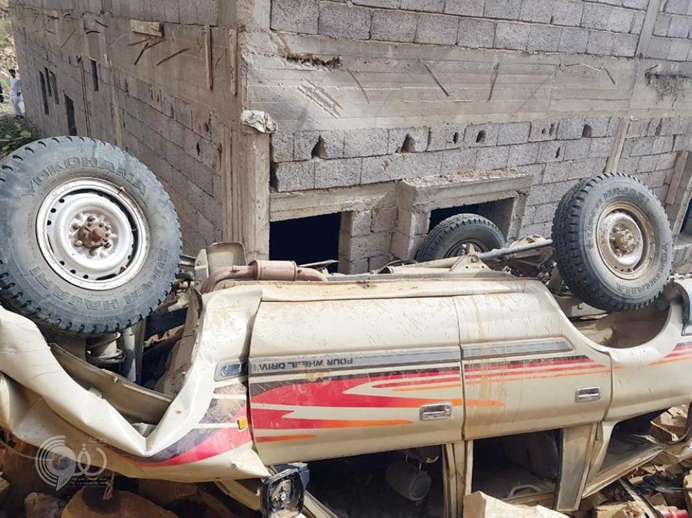 جازان.. وفاة مواطن بعد سقوط مركبته من عقبة الغادي