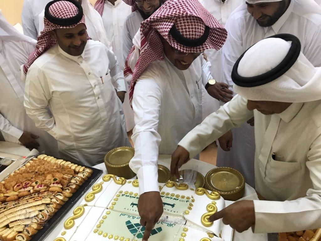 بلدية الحقو تعايد منسوبيها بمناسبة عيد الفطر المبارك – صور