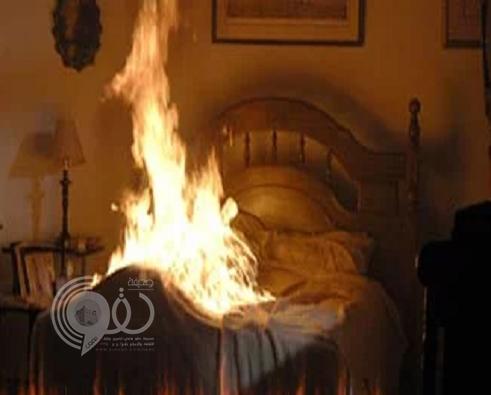 شاب عربي يشتري بنزين ويشعل النيران في والده وهو نائم بدبي.. والشرطة تكشف دوافع الجريمة!